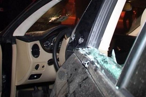 Опубликовано видео с места расстрела бизнесмена и его детей в Киеве