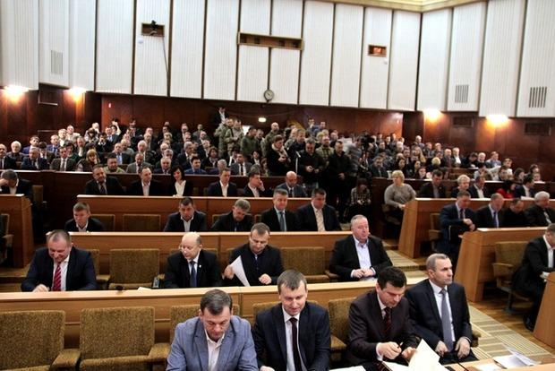 Ивано-Франковский облсовет досрочно завершил сессию, депутаты ушли садить огороды