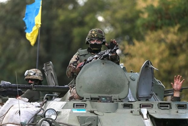 Террористы продолжают обстреливать силы АТО, двое бойцов ВСУ ранены