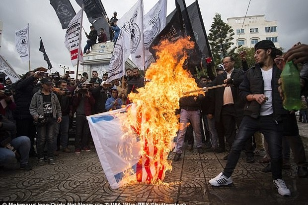 В Єрусалимі спалахнули безлади
