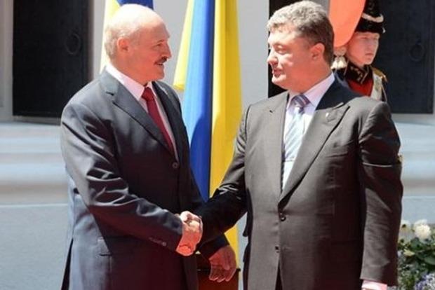 Порошенко поговорил с Лукашенко о Донбассе