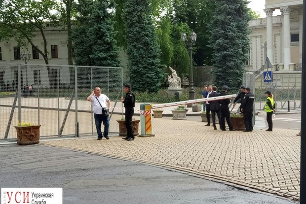 Центр Одессы полностью перегородили в связи с прибытием Порошенко