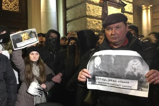 Во Львове Ирину Билык заставили признать Россию агрессором, а Крым - нашим