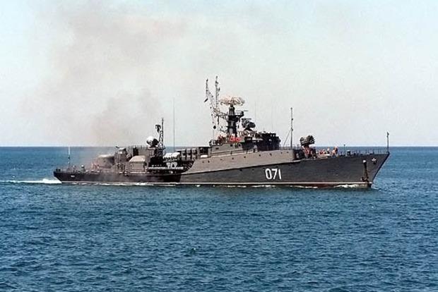 В оккупированном Крыму Черноморский флот по тревоге отправили в море