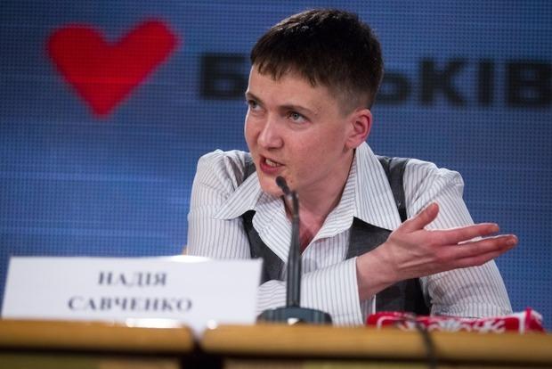 Савченко полагает, что экономические санкции против РФ надо отменять постепенно