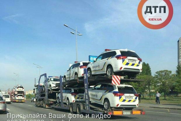 На улицы Киева скоро выедут новые полицейские джипы