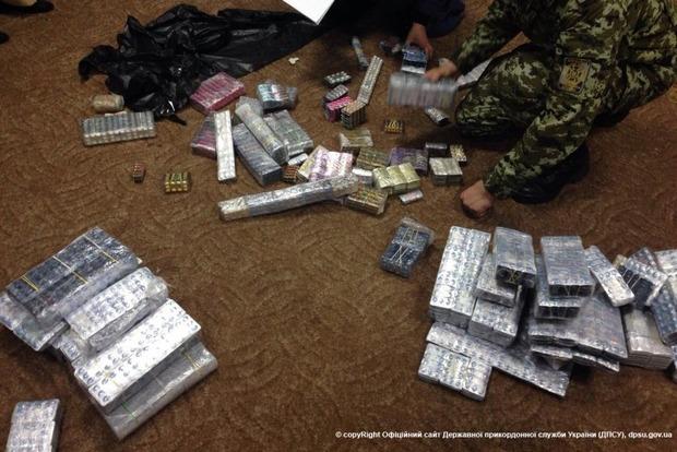 Пограничники задержали партию «виагры» на 900 тысяч гривен