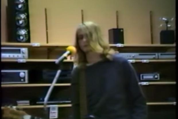 В Сети обнародовали редкое видео c Nirvana