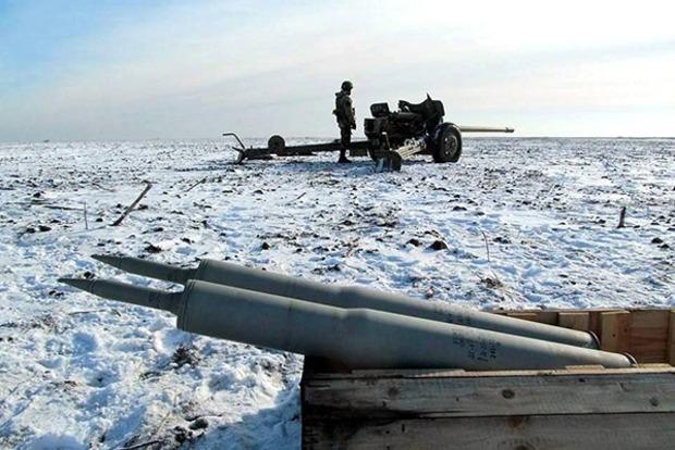 Боевики 11 раз обстреляли позиции ВСУ на Донбассе