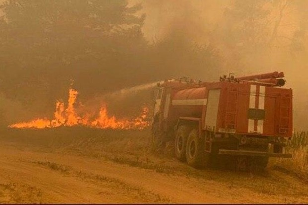 Появилась четвертая версия пожаров в Луганской области