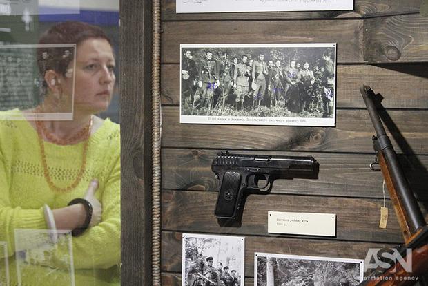 Крыивка УПА открылась в Национальном музее истории Украины
