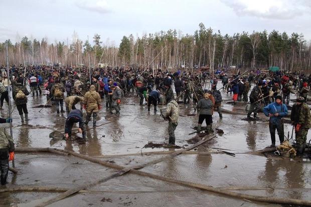 В 2016 году в Ровенской области возбуждено 500 уголовных дел за добычу янтаря