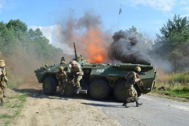Украинские военные примут участие вучениях Rapid trident