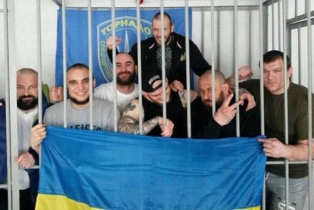 ВЛукьяновском СИЗО столицы Украины один из«торнадовцев» избил следователя