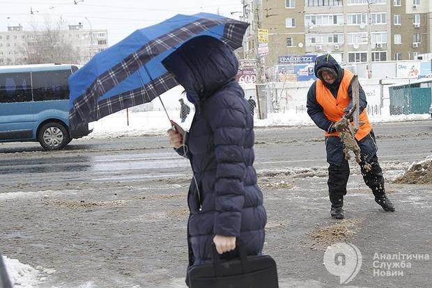 Синоптики предупредили о гололедице на дорогах в Киеве