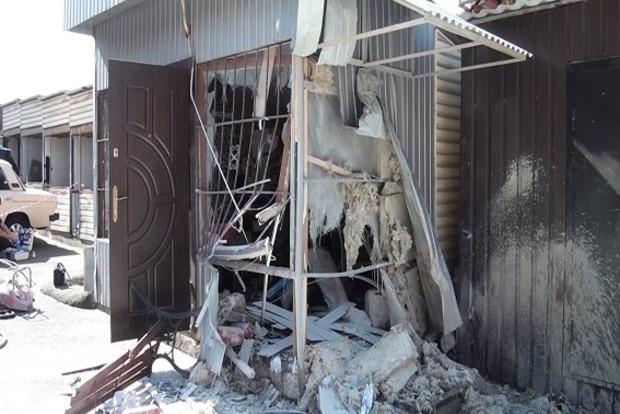 Возле радиорынка в Киеве произошел взрыв в киоске
