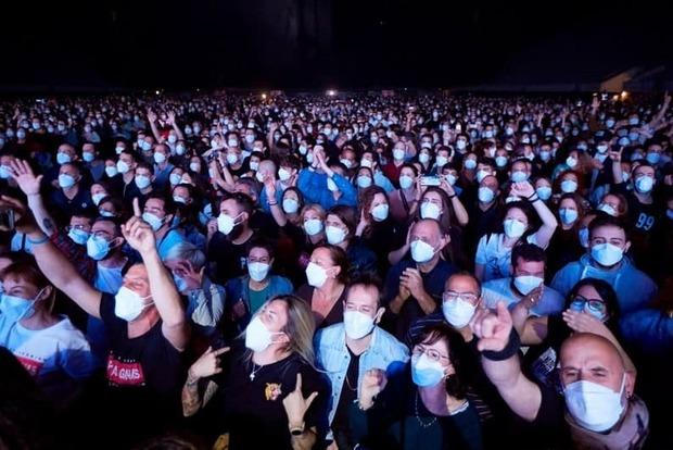 В Барселоне прошел экспериментальный большой концерт