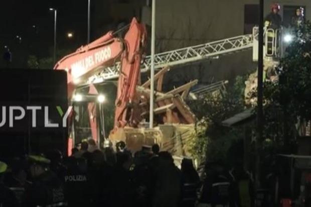 В пригороде Рима в двухэтажном здании прогремел взрыв: есть жертвы