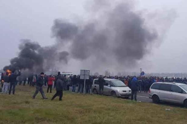 Пограничники усиливают меры безопасности из-за протеста «евробляхеров»