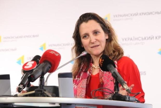 В МИД РФ рассказали об условиях отмены санкций в отношении Фриланд