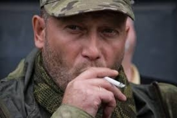 Нардеп Ярош показал тренировочную базу бойцов-добровольцев