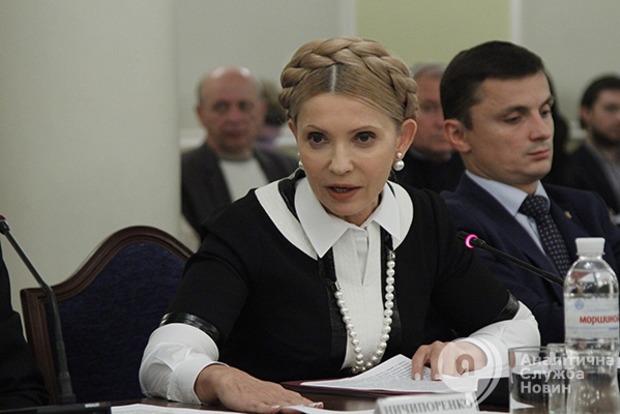 Тимошенко обвинила команду Порошенко в попытке заработать на абонплате за газ 12 млрд в год