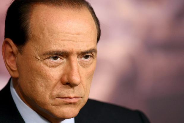 Берлускони запретили посещать Украину