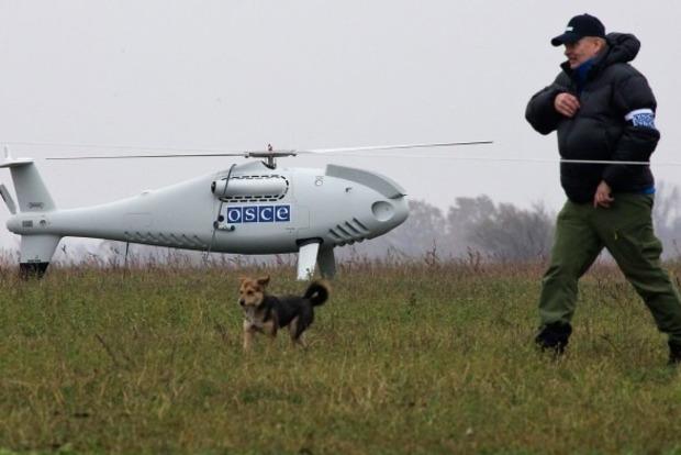 Миссия ОБСЕ попала под обстрел боевиков ДНР