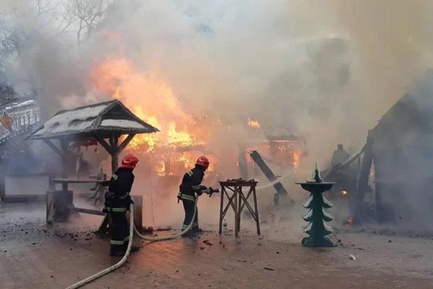 Взрыв нарождественской ярмарке воЛьвове: есть пострадавшие