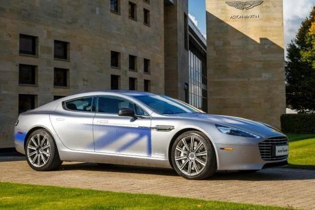 Aston Martin создаст электроавтомобиль RapidE