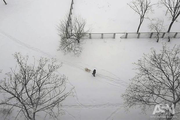 Испытание погодой. Статистика говорит, что такого февраля в Украине не было уже 40 лет