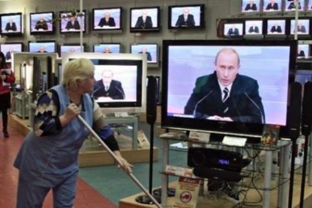 В Киеве СБУ предотвратила трансляцию 76 запрещенных телеканалов РФ
