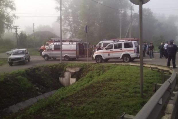 МЧС РФ подтвердило гибель пяти граждан Украины в ДТП в Курской области