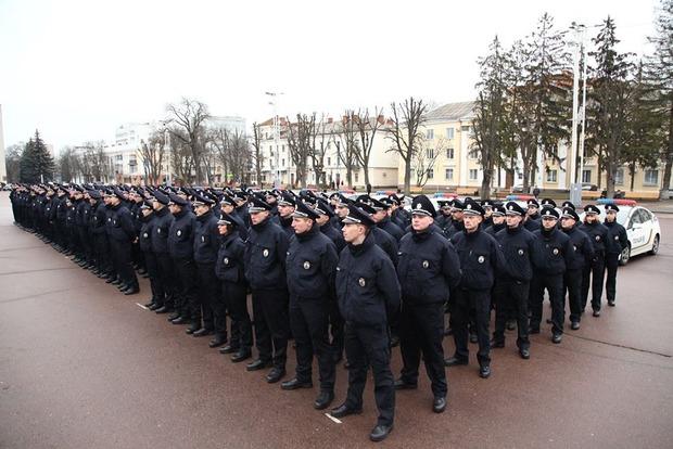 В Хмельницком стартует новая патрульная полиция