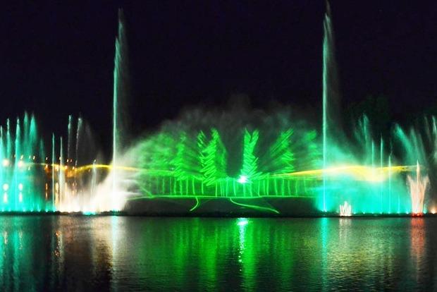 В Виннице проходит открытие сезона фонтана Roshen