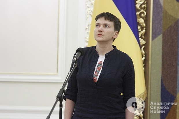 Спикер сообщил об исключении Савченко из «Батькивщины»