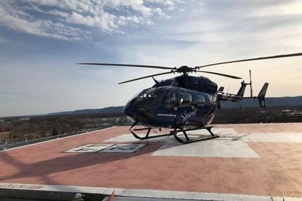 В США разбился медицинский вертолет погибли все