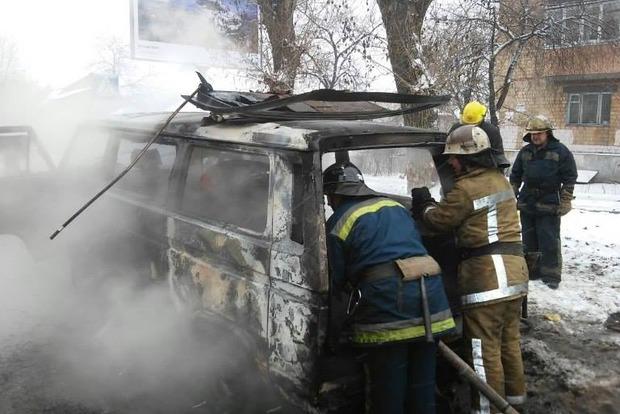 В Киеве за два дня загорелись четыре иномарки