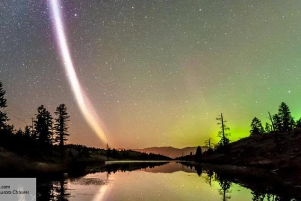 Астрономы зафиксировали необычное атмосферное явление