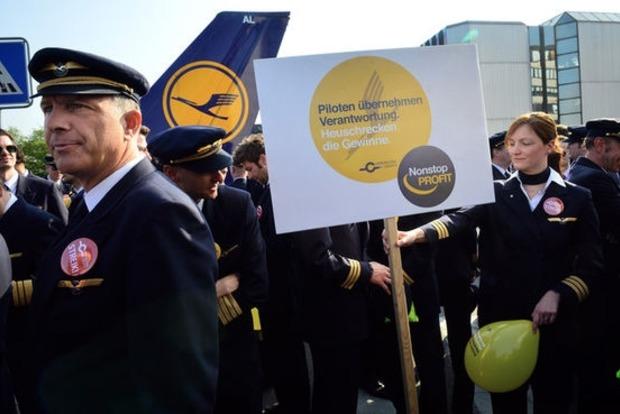 Сотрудники Lufthansa бастуют, 929 рейсов отменены