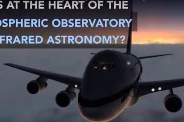 NASA опубликовало видео крупнейшей летающей обсерватории