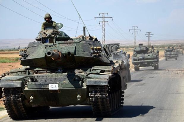 На севере Сирии идут бои между курдами и армией Турции