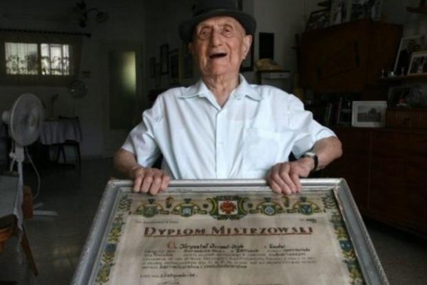 ВИзраиле возрасте 113 лет скончался самый старый мужчина вмире