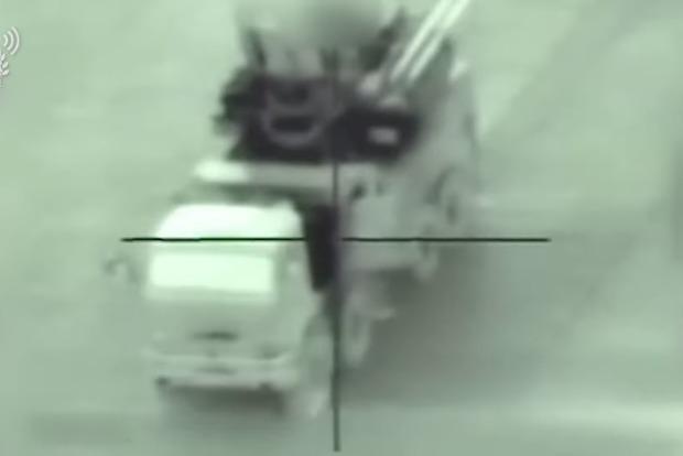 Військові Ізраїлю знищили російський Панцир в Сирії. Яскраве відео