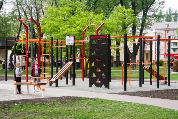 На Дарнице открыли новый парк отдыха на 3,5 гектара