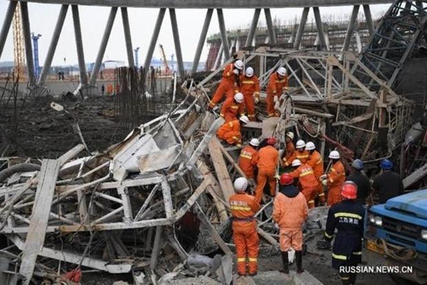 Число жертв обвала на электростанции в Китае достигло 67