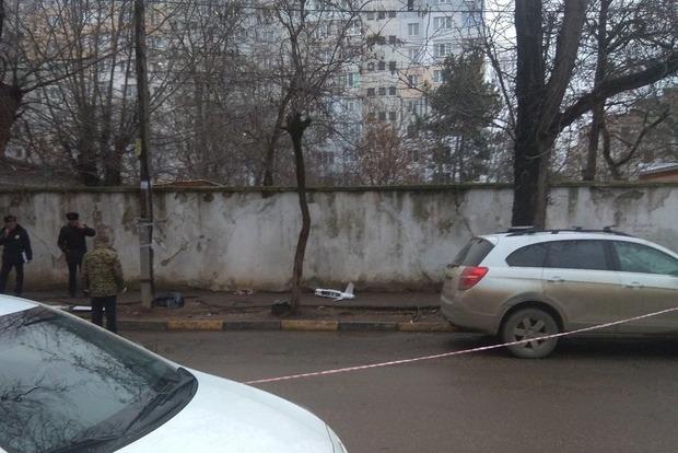 В оккупированном Крыму разбился беспилотник с листовками Слава Украине