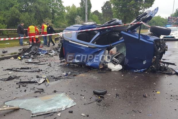 Жуткое ДТП в Киеве: погибло три человека