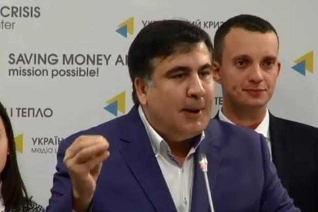 Саакашвили пойдет к Порошенко за указом о досрочных выборах