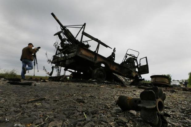 За прошедшие сутки боевики 37 раз обстреляли позиции ВСУ